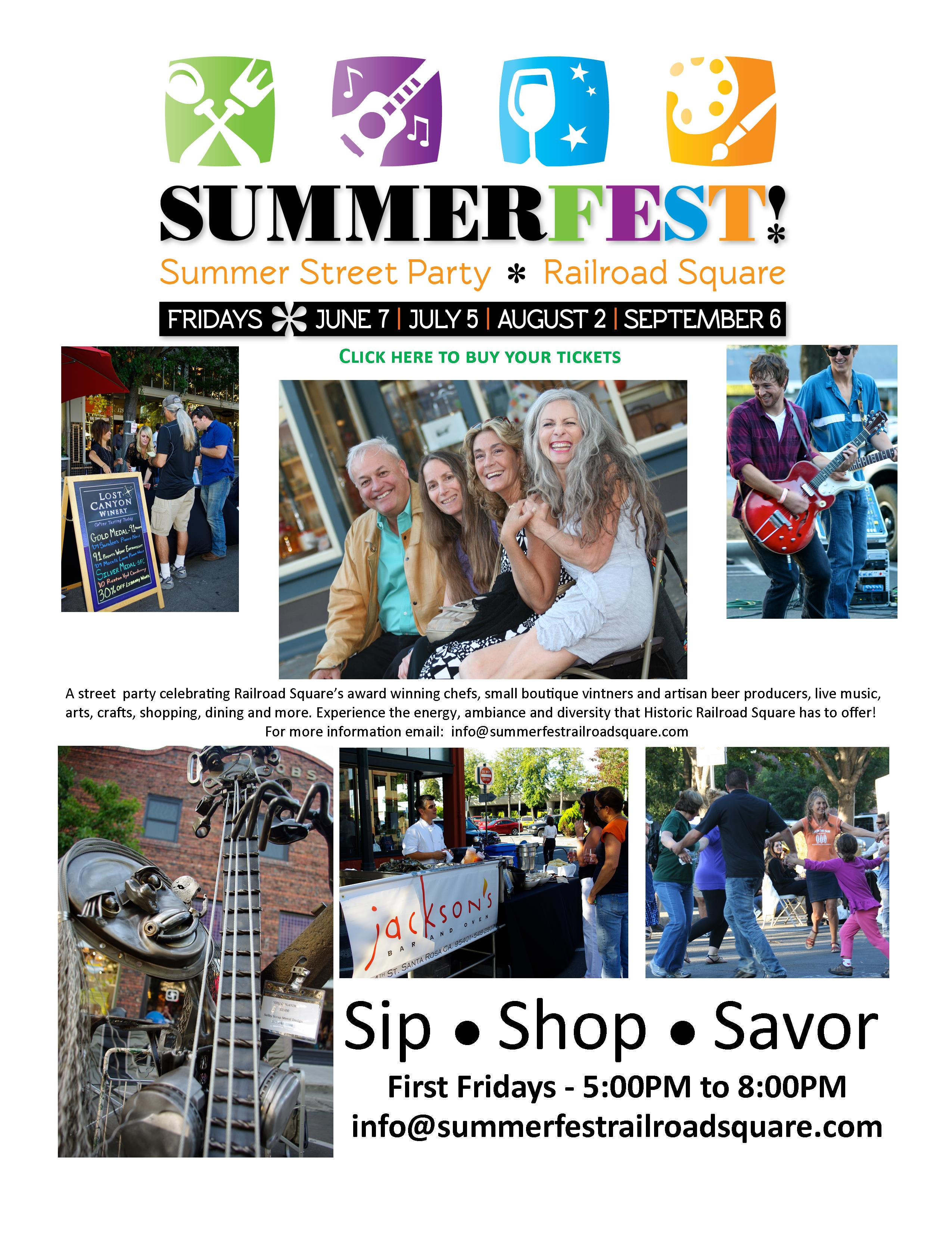 Summerfest web page